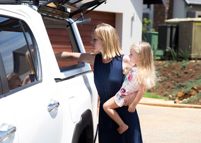 RSI SMARTCANOPY® - Toyota Hilux Canopy - REVO - DCab - Glacier White - Everyday User 1