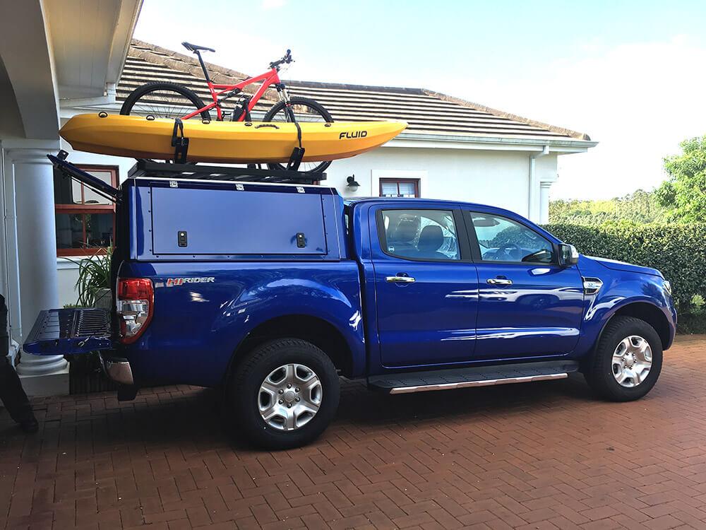 RSI SMARTCANOPYR Ford Ranger Canopy Performance Blue 2016 2