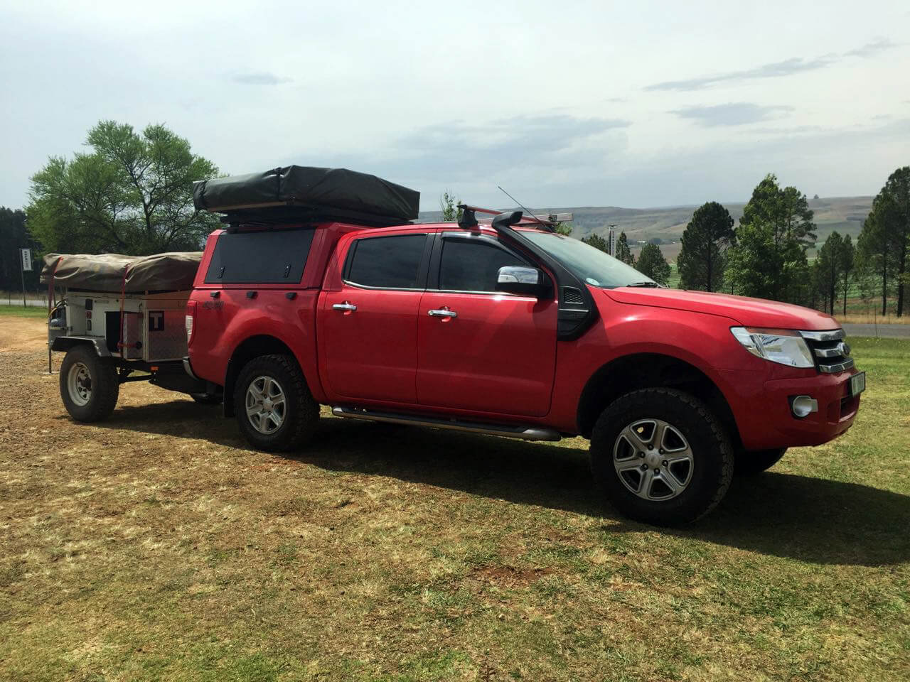 RSI SMARTCANOPY® - Ford Ranger Canopy 2016 - Colorado Red-1