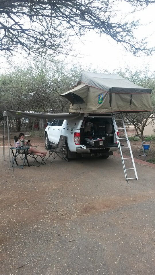 RSI SMARTCANOPY® - Ford Ranger Canopy - DCab - White - Overlanding