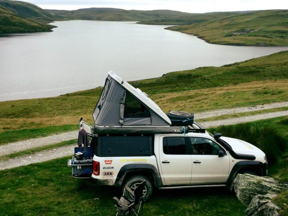 RSI SMARTCANOPY® - VW Amarok Canopy - DCab - White - Germany