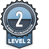 B-BBEE Accreditation Level 2